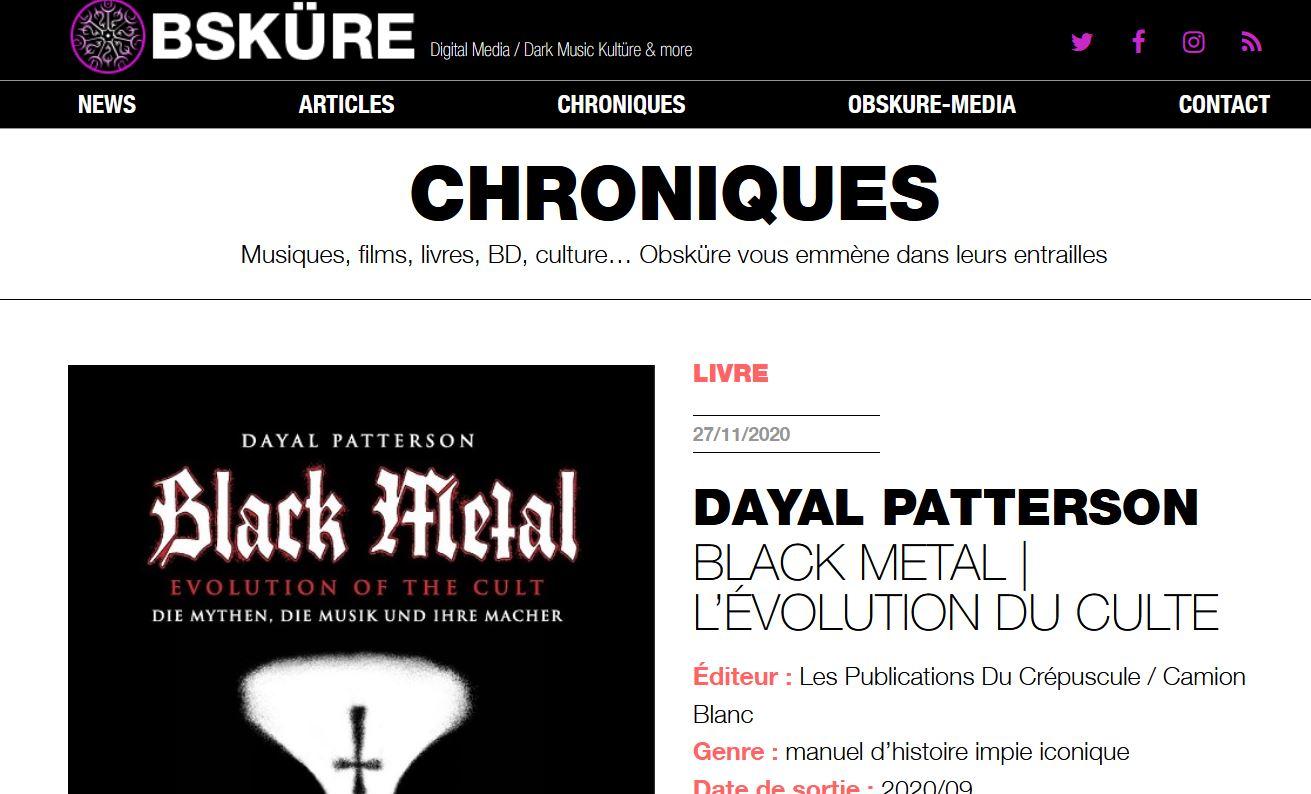 https://www.obskure.com/dayal-patterson-black-metal-evolution-du-culte-2020-crepuscule.html